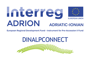 Transboundary ecological connectivity of Alps and Dinaric Mountains Logo
